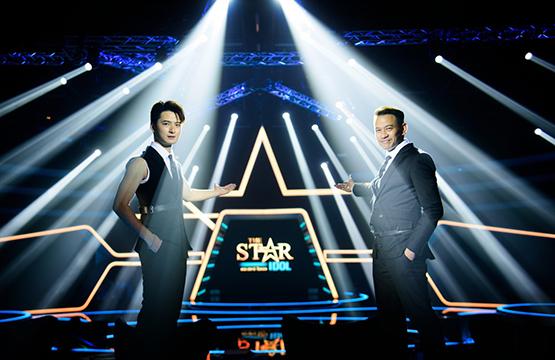 """เปิดตัวพิธีกรรายการ """"The Star Idol""""    """"แฟรงค์-ภคชนก์"""" กอดคอ """"คริส-พีรวัส"""" 2พิธีกรคู่หูคู่ใหม่"""
