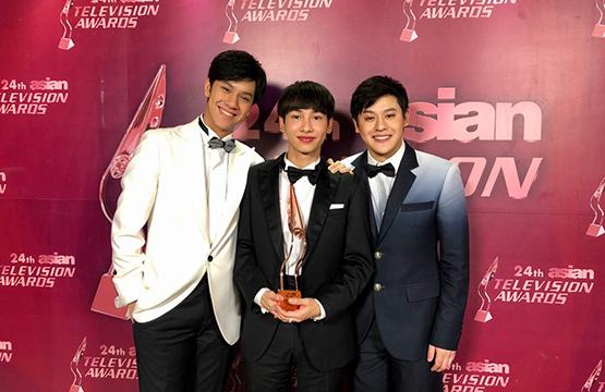 """""""กัน-อรรถพันธ์"""" คว้ารางวัล """"Best Actor in a Supporting Role""""    จากซีรีส์ """"The Gifted นักเรียนพลังกิฟต์""""  งาน """"Asian Television Awards 2019"""""""
