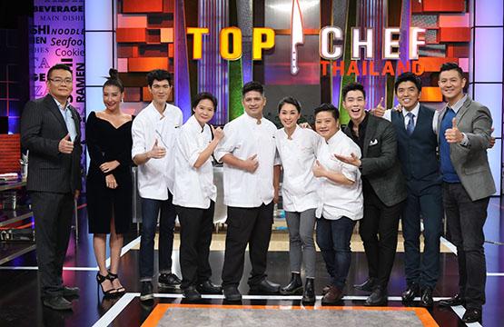 """Top Chef รุ่นพี่"" บุกเวที ""Top Chef 3""  จับคู่แข่งขันกับ 5 คนสุดท้ายในโจทย์ Allstar Challenge!!"